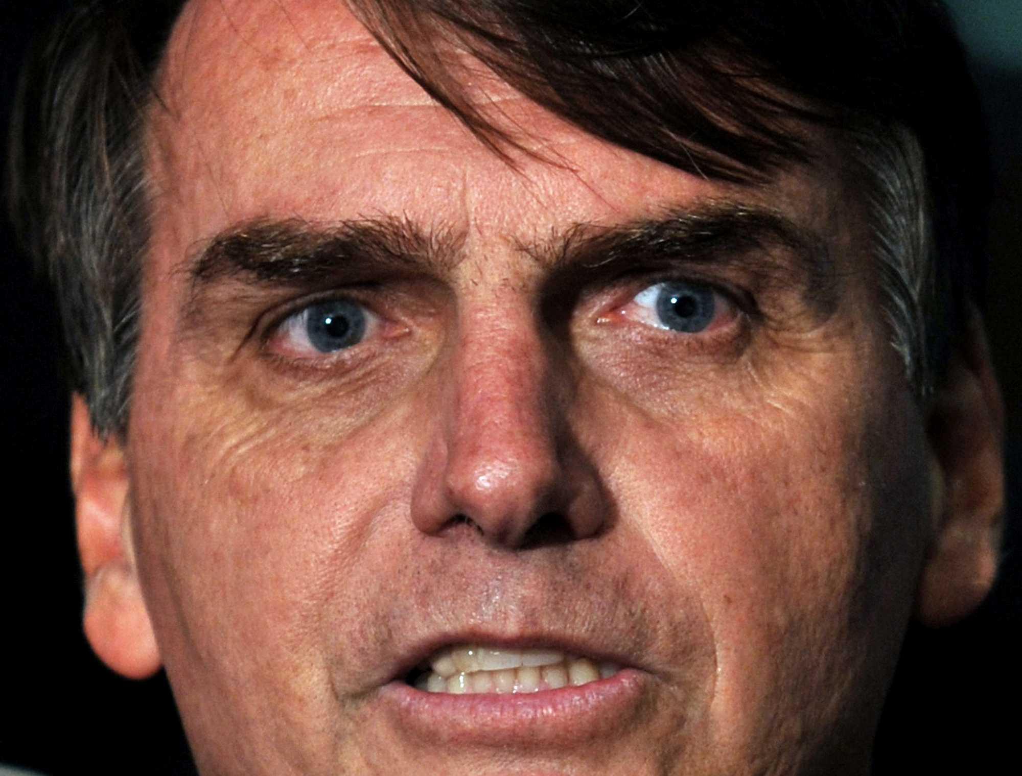 known as the myth, jair bolsonaro is brazil's version of donald