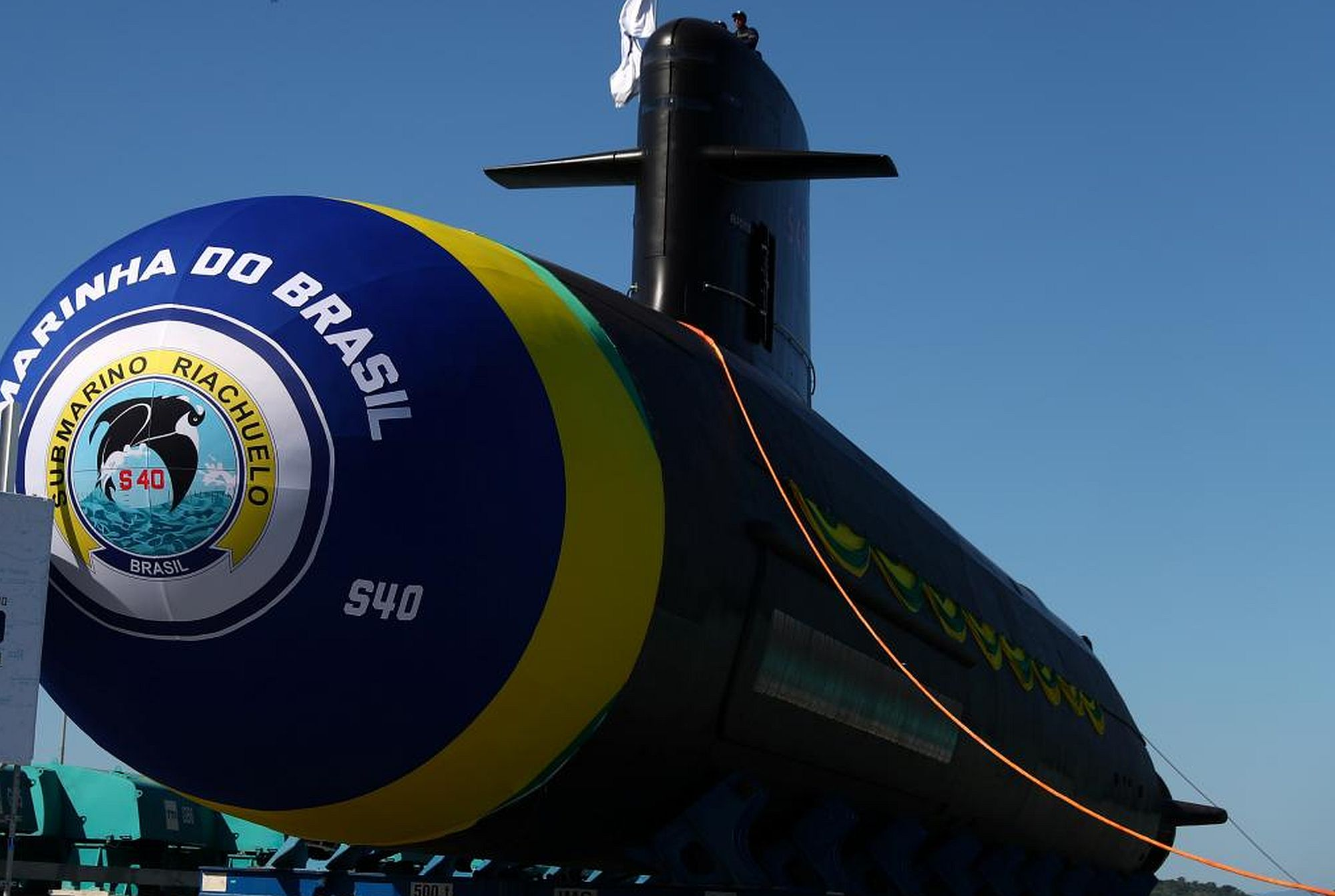 baf56714d The Riachuelo is the first of four conventional submarines Brazil plans to  launch.